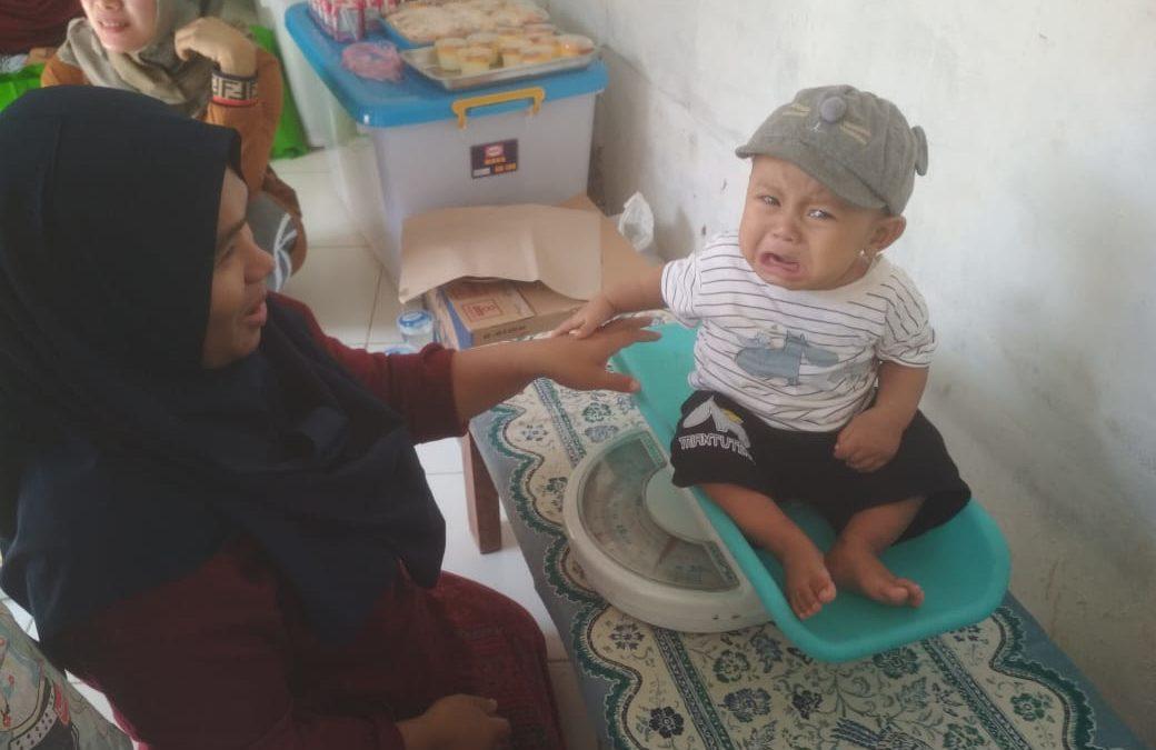 Posyandu RT 06 RW 06 Kalibaru Kelurahan Kalibaru Kecamatan Cilodong bekerjasama dengan RS Citra Medika Depok