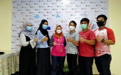 kegiatan rutin donor darah bersama PMI kota depok